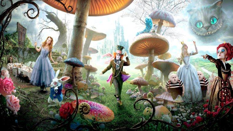 愛麗斯夢遊仙境4